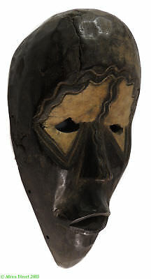 Dan Deangle Mask Painted Eyes Liberia African Art