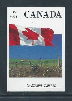 Canada Booklet 1990 Flag #BK111A Perf 12 1/2 x 13 MNH ** Free Shipping **