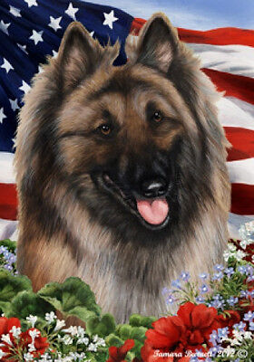 Large Indoor/Outdoor Patriotic I Flag - Belgian Tervuren 16083