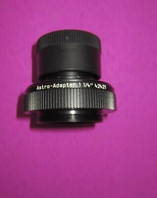 Leica Astro Adapter 1 1/4'' For Televid Eyepiece's Part 42 421 Spotting Scope