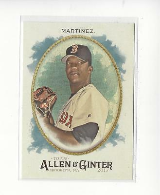 2017 Topps Allen and Ginter Hot Box Foil #107 Pedro Martinez Red Sox
