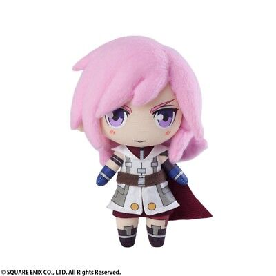 Final Fantasy XIII Lightning Small Mini Plush Toy Official Licensed Square Enix