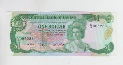 Belize Paper Money one old note Choice uncirculated