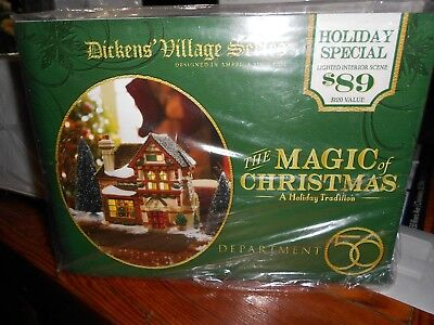 DEPT 56 DICKENS' Village THE MAGIC OF CHRISTMAS A Holiday Tradition Still Sealed