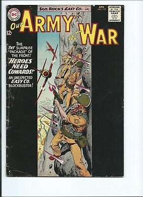Our Army At War 129 - Vg- 3.5 - Sgt. Rock - Easy Company (1963)