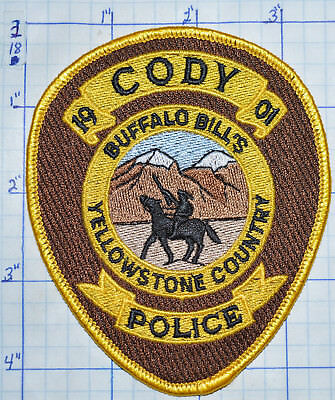Wyoming, Cody Police Dept Patch