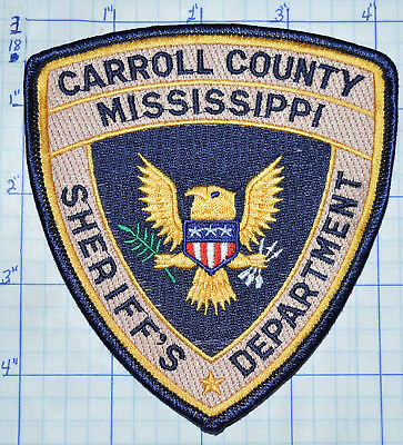 Mississippi, Carroll County Sheriff's Dept Patch