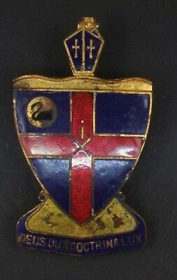 Christ Church Grammar School Perth Hat Badge 50 x 35 mm by Sheridan