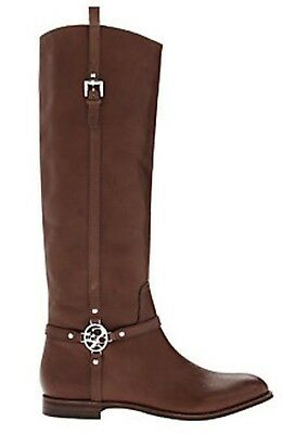0700dc1ed89 Coach Mulan Women s Leather Knee-High Riding Boots Size US 5.5 M Chestnut