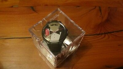 Vintage Coca Cola Mustache Tuxedo watch with box