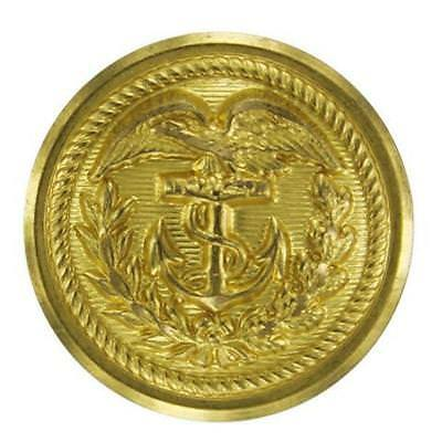 USCG Coast Guard Button 35 Ligne Gold for Jacket   (Made in USA)