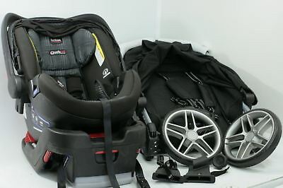 Britax 2017 B Agile  and B Safe 35 Elite Travel System Car Seat and Stroller