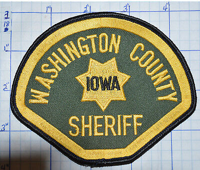 Iowa, Washington County Sheriff Dept Patch