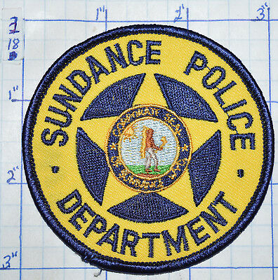 Wyoming, Sundance Police Dept Round Patch