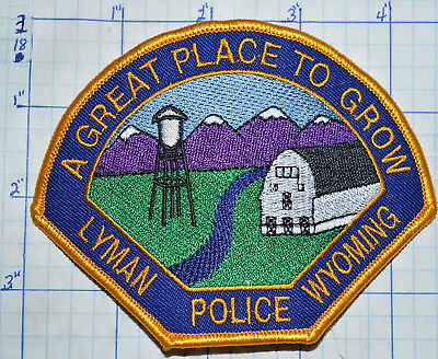 Wyoming, Lyman Police Dept Patch