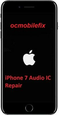 iPhone 7/7Plus Audio IC No Mic Speaker Sound Slow Boot Repair Service