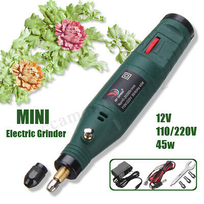 Electric Variable Speed Mini Engraving Pen Hand Drill Set Grinding Rotary Tool
