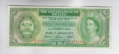 Belize Paper Money one note vf