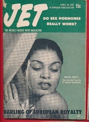 Jet Magazine April 10 1952 SEX HORMONES WORK MURIEL SMITH EUROPEAN ROYALTY QUEEN