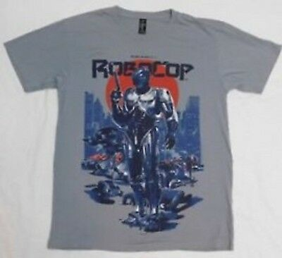 ROBOCOP MOVIE POSTER Licensed Adult Long Sleeve T-Shirt S-3XL