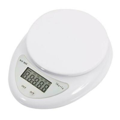 5kg 5000g/1g Digital Kitchen Food Diet Electronic Weight Balance Scale US
