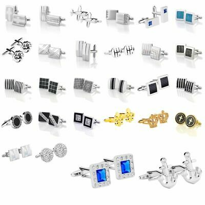 Zodaca Classic Fashion Men's Wedding Party Cufflinks Cuff Links