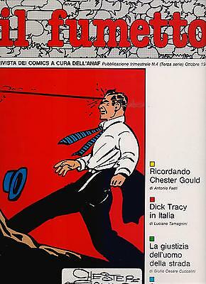 IL FUMETTO rivista ANAF N.4 /1985 speciale Chester Gould DICK TRACY lips manlis