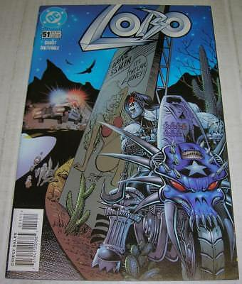 LOBO #51 (DC Comics 1998) TRUE STORIES OF THE HIGHWAY PATROL (FN/VF) RARE