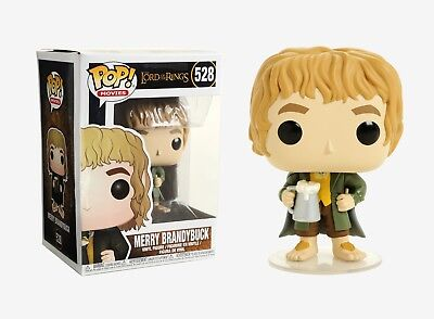 Funko Pop Movies: The Lord of the Rings - Merry Brandybuck Vinyl Figure #13563