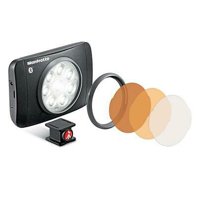 Manfrotto Lumimuse 8 On-Camera LED Light with Bluetooth #MLUMIMUSE8A-BT