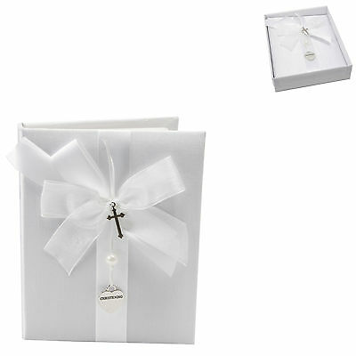 White Christening Day Photo Album Gift New In Box CG742