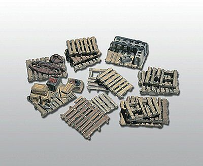 Woodland Scenics / SCENIC DETAILS HO Scale - #204 ASSORTED SKIDS (15 PC) D204