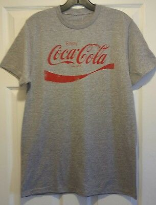 New Enjoy Coca-Cola Retro Classic Adult Medium Soft Drink Soda Americana T-shirt