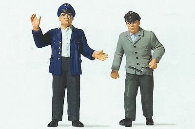Train Drivers and Heaters Preiser 63103 1 Gauge Scale 1:3 2