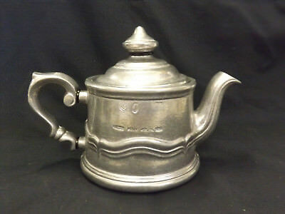 Wilton Pewter Country Ware French Individual Teapot - New Unused buy up to 2