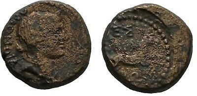 Rare Ancient Greece 187-167 BC Roman MACEDON THESSALONICA HOMONOIA HORSE