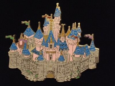 Disney WDI Cast Exclusive HKDL Park Map Icon Sleeping Beauty Castle Pin LE 1500