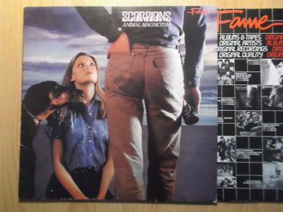 SCORPIONS LP: ANIMAL MAGNETISM (D;RE;Fame 1C 038-1575441)