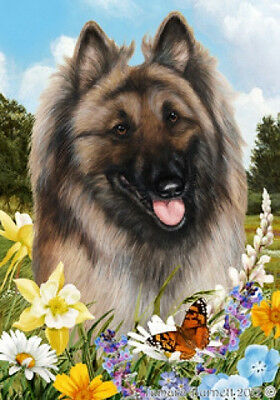 Large Indoor/Outdoor Summer Flag - Belgian Tervuren 18083