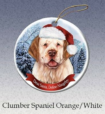 Define Naughty Ornament - Clumber Spaniel