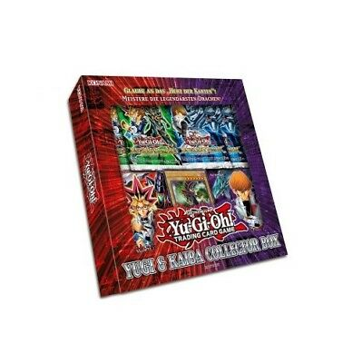 Yugioh Yugi & Kaiba Collector's Box DEUTSCH OVP - Reloaded Decks & Duelist Packs
