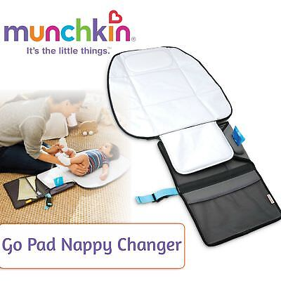 Munchkin Go Pad Nappy Changer│Changing Diaper Mat│Double Padded│50 cm x 71 cm