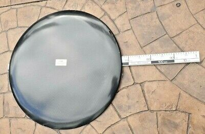 "Replacement Insert  for WHEEL COVER  Diameter 26"" Carbon Fibre CD2600C"