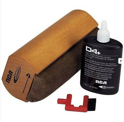 RCA Discwasher D4+ Wet Vinyl Record Care System Brush Pad Ships from US Seller
