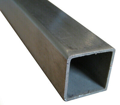 """1"""" x 1"""" x 10"""" x 0.049"""" Wall 18 Gauge 304 Stainless Steel Square Tube"""