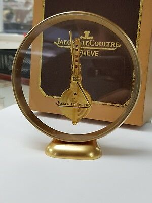 Jaeger-LeCoultre Table Clock Skelton 8 Days Movement