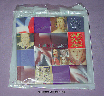 2002 Royal Mint Brilliant Uncirculated Set Coins - Mint Sealed As Issued