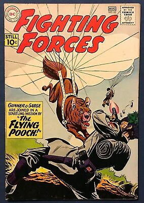 Our Fighting Forces #63 Aug 1961  The Parachute Pooch