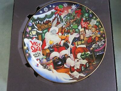 Another Looney Tunes Christmas Warner Bros.Collector Plate #649/2500
