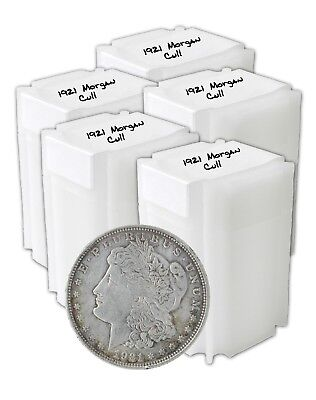 1921 Silver Morgan Dollar Cull Lot of 100 Solid Date S$1 Nice Coins Great Price